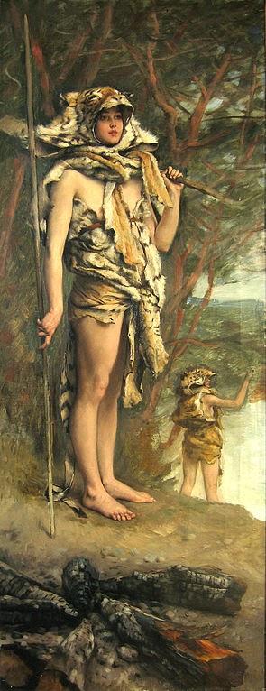 Mulher Pré-Histórica - As principais pinturas de James Tissot ~ Francês