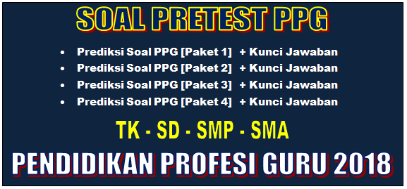Prediksi Soal Pretest PPG