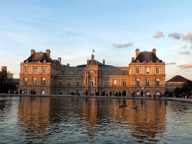 Palacio en el Jardín de Luxemburgo París