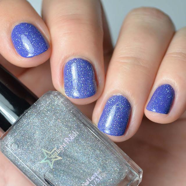 holographic micro glitter nail polish topper