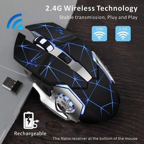 Review MQZF Wireless Gaming Mouse