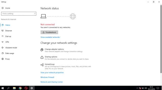 Cara Mengatasi Icon Wifi Hilang Di Windows 10