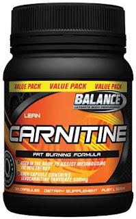 suplemen carnitine
