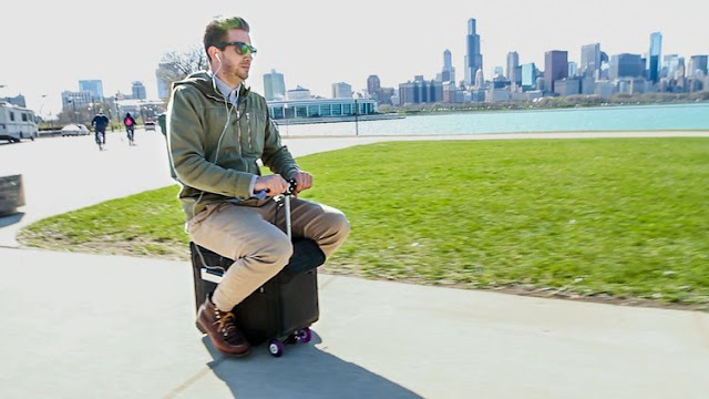 Modobag- Travel With Smart Riding Suitcase