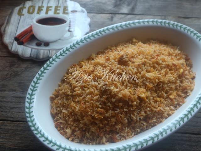 Nasi Goreng Telur Garing