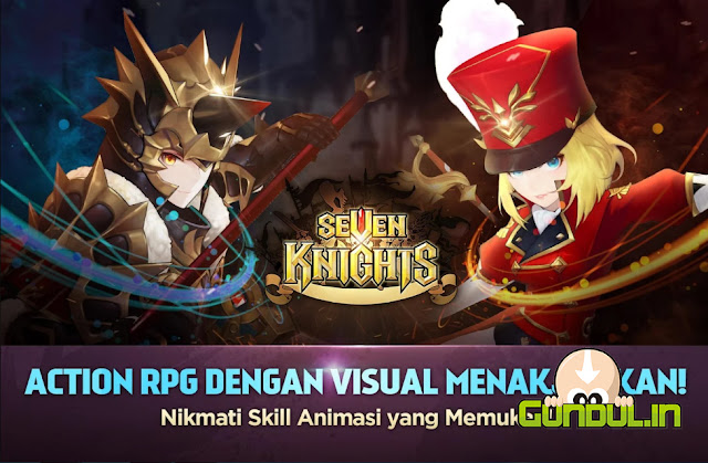 Seven Knights Versi 2.2.20 APK MOD (Very Fast Skill, Unlimited Gold)