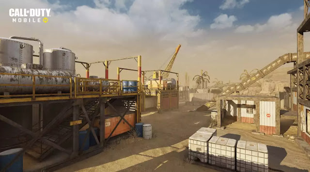 call of duty mobile latest version Rust Map