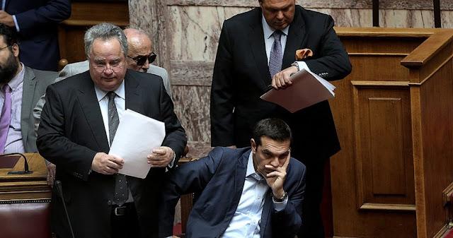 Η κατάρρευση των ΣΥΡΙΖΑΝΕΛ συμπαρασύρει και τη χώρα