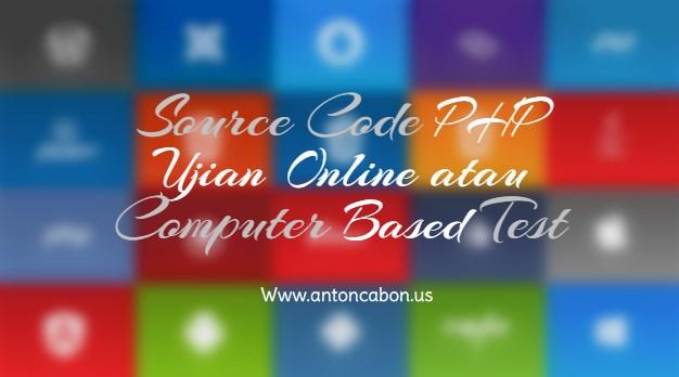 Source Code PHP Ujian Online