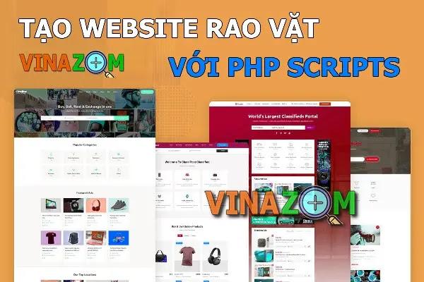 php scripts tạo website rao vặt tốt nhất