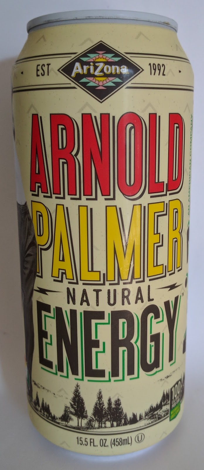 Caffeine King: Arnold Palmer Natural Energy Drink Review