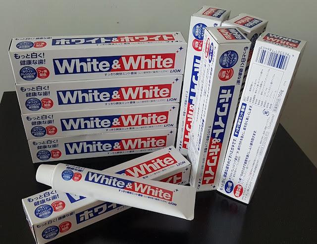 Kem đánh răng White & White - Hàng Nhật