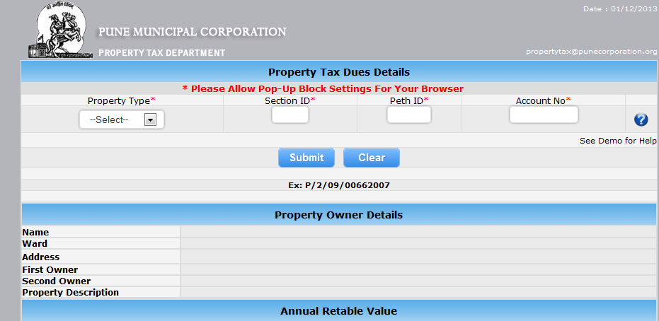 Bmc Property Tax Online Payment