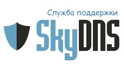 Техническая поддержка SkyDNS, горячая линия, служба поддержки