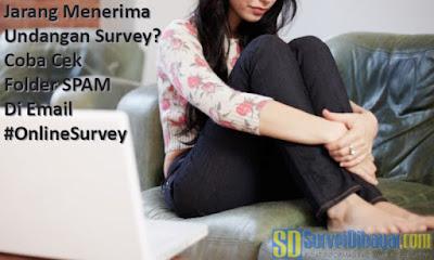 Jarang Menerima Undangan Survey? Coba Cek Folder SPAM di Email | SurveiDibayar.com