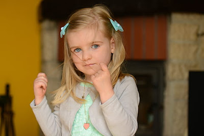 Hairstyles for Little Girls - Simple Straight Ponytail Hair