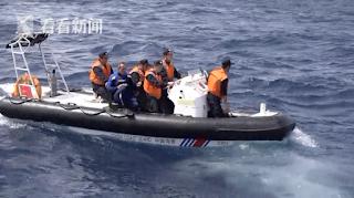 Rescate en las islas Nansha