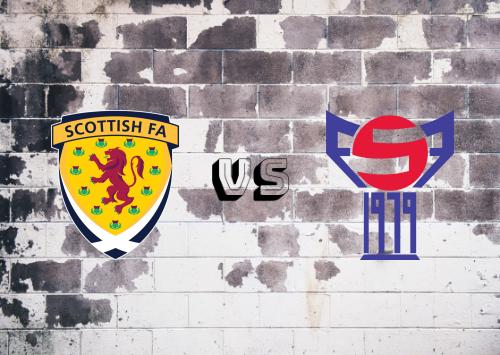 Escocia vs Islas Faroe  Resumen