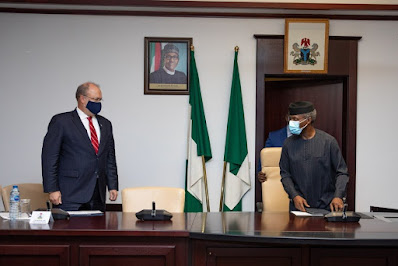 Unrest in Nigeria: Top US officials meet Osinbajo, make demand