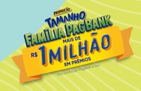 Cadastrar Promoção Tamanho Família Pagbank 2020 2021 - 1 Milhão de Reais em Prêmios