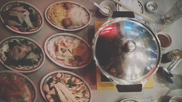Steamboat meal experience