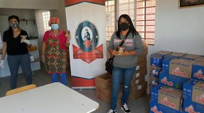 Sindicato de Supervisores de Candelaria realiza donación a Lechería de Copiapó