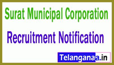 Surat Municipal Corporation Recruitment Notifcation