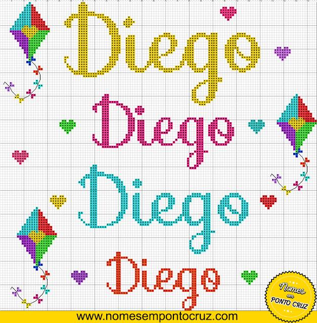 Nome Diego em Ponto Cruz