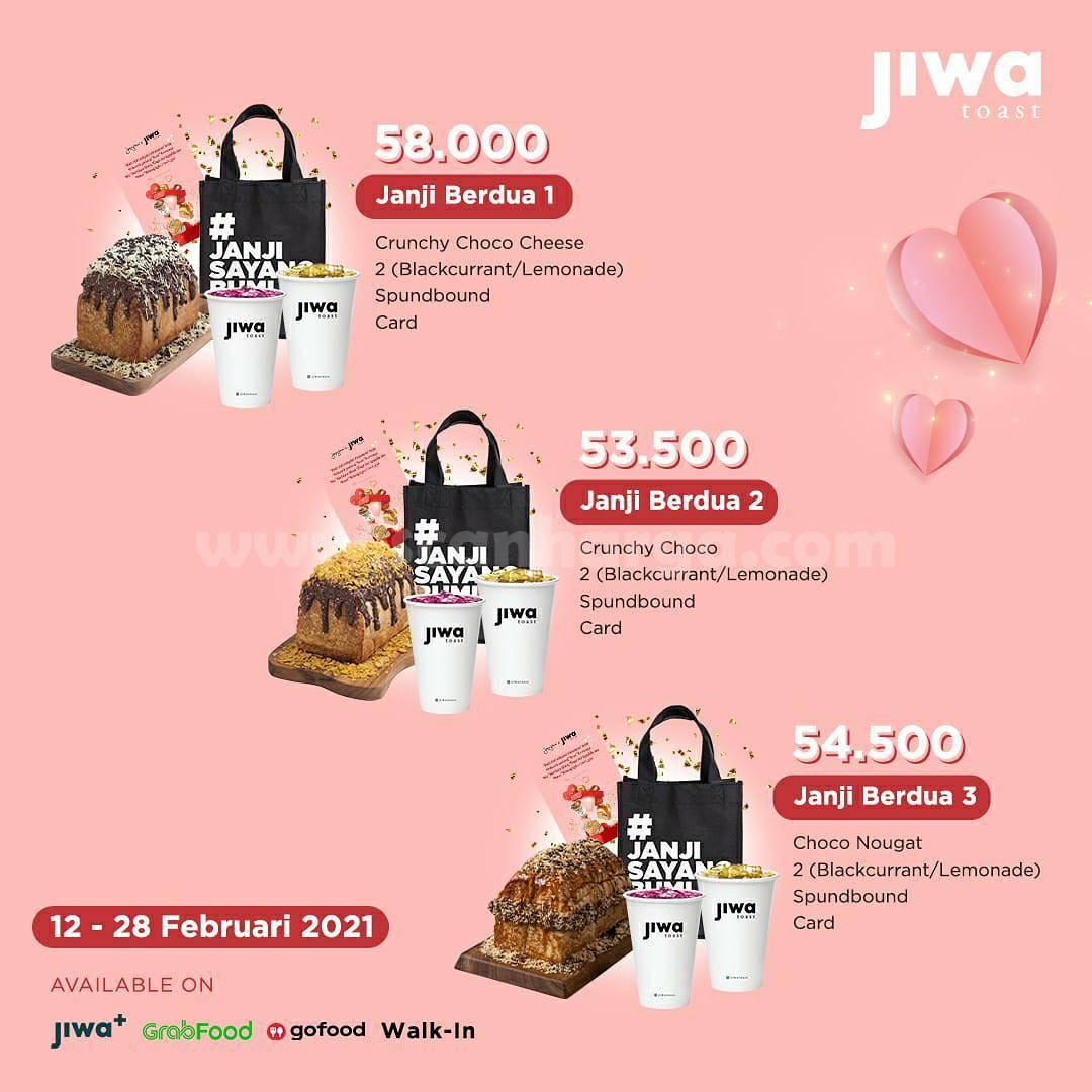 JIWA TOAST & Janji Jiwa Promo Paket Hampers! harga mulai 50 Ribu-an