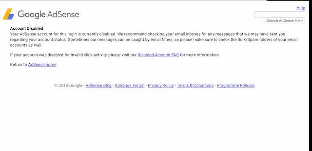 تجربتي في استرجاع حساب جوجل ادسنس