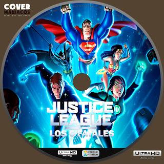 Justice League vs the Fatal Five 2019 - LIGA DE LA JUSTICIA VS LOS 5 FATALES [COVER – 4KUHD]GALLETA LABEL