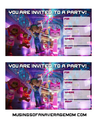 lego movie 2 the second part invitations