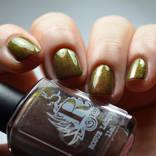 color shifting shimmer nail polish