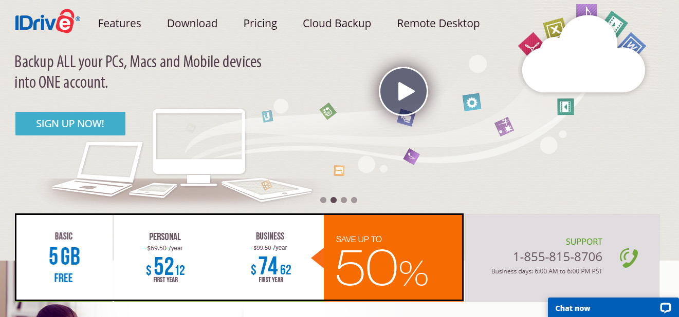 IDrive Cloud Storage Service