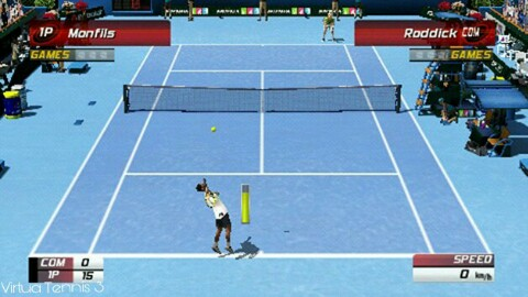 Virtua Tennis 3 PSP Game Review on Android