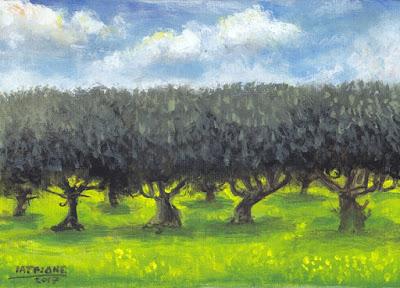 IaTriDis Πίνακας ζωγραφικής : Ελιές