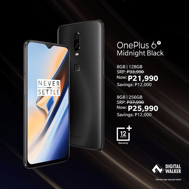 Sale Alert: OnePlus 6T receives another price cut in the Philippines