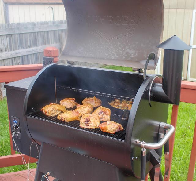 Traeger grilled chicken thighs