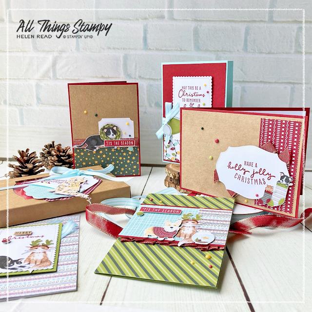 Sweet Stockings Stampin Up Christmas Cards UK demonstrator