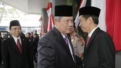 Unggah Foto Jokowi Rangkul SBY, PD: Selamat Ulang Tahun Presiden!