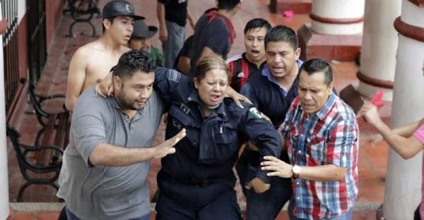 Ya son 5 ciudadanos presos por protestar contra EPN en Chiapas.