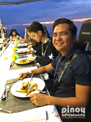 Dinner in the Sky Philippines Solaire Manila