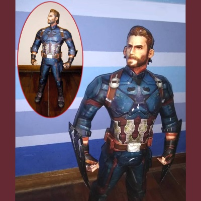 Marvel Papercraft: Infinity War Captain America