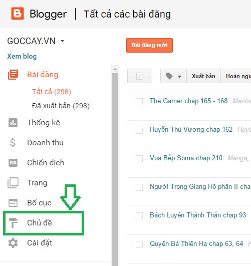 Hướng dẫn Backup và Restore dữ liệu, template blogspot/blogger