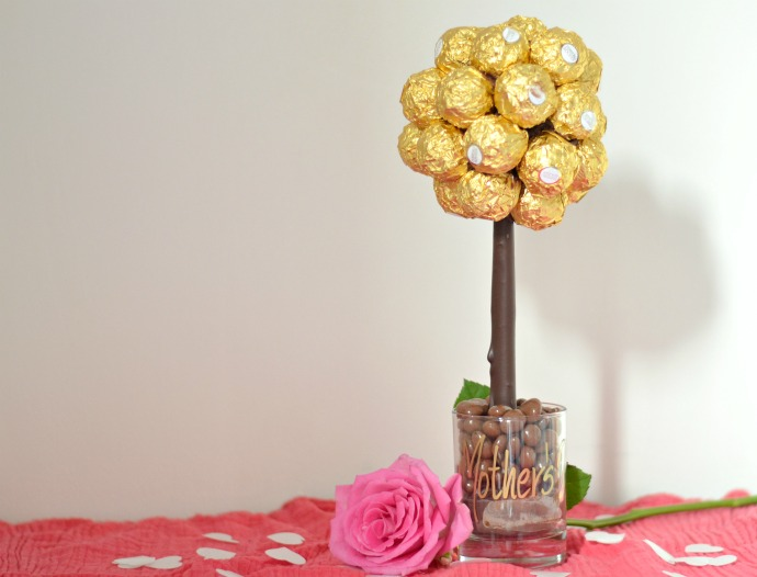 ferrero rocher tree, chocolate tree