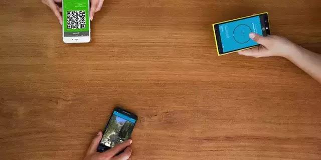كيفية مشاركة الملفات الكبيرة بين هواتف Android