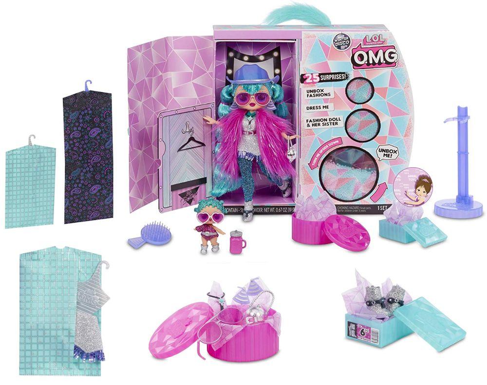 Cosmic Nova and Cosmic Queen dolls from Winter Disco series