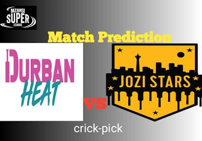 DUR vs JOZ, Dream11 Today Match Prediction, Pitch Report, Fantasy Cricket Tips & Playing XI Updates, 30th Match, Dec 10th 2019.
