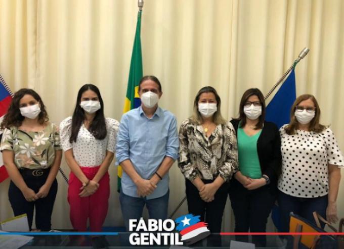 Prefeito Fábio Gentil anuncia para hoje início da vacinação contra a Covid-19 em Caxias