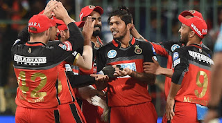 RCB vs KXIP 8th Match IPL 2018 Highlights